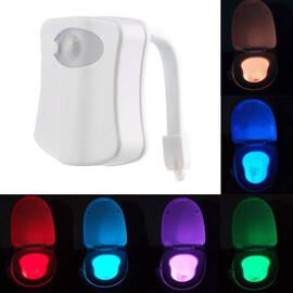 Lampa cu senzor pentru toaleta