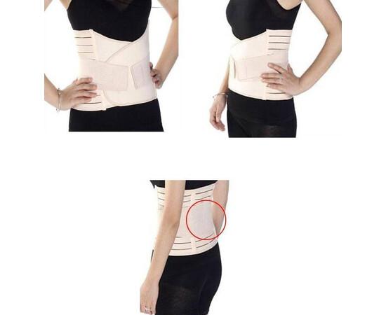 Brau modelator pentru aplatizarea abdomenului si prevenirea durerilor de spate 120cm