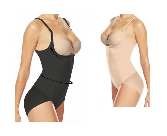 SET: Body modelator cu efect push up + Centura reglabila neopren de la S la XL