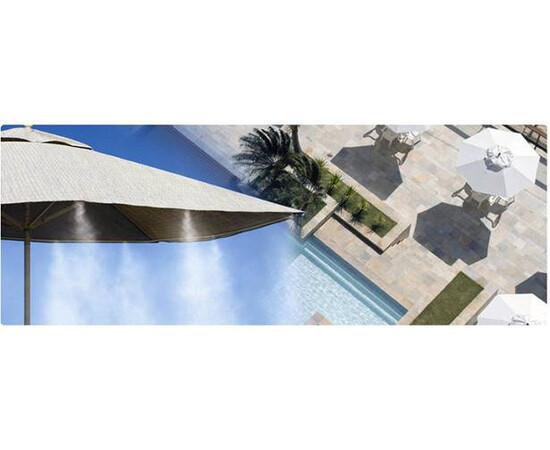 Sistem racire pentru terasa cu vapori – 20 m