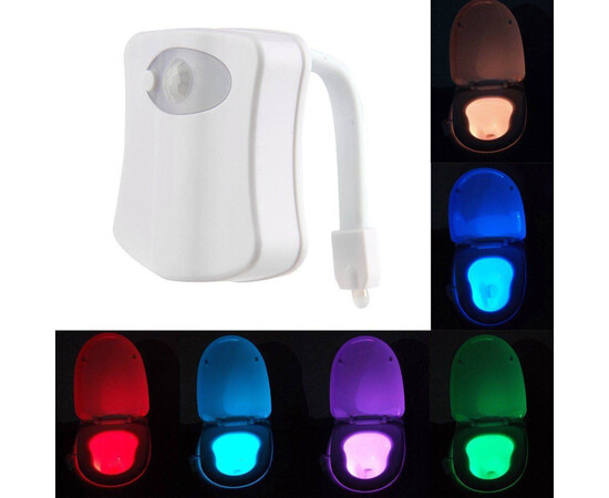SET: 2 x Lampa cu senzor pentru toaleta
