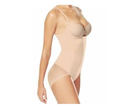 SET: Body modelator cu efect de push up + Centura modelatoare tip corset, efect talie de viespe cu prindere mos si baba